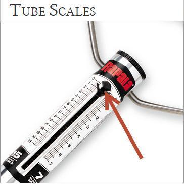 Rapala Mechanical Tube Scale 15-Pounds