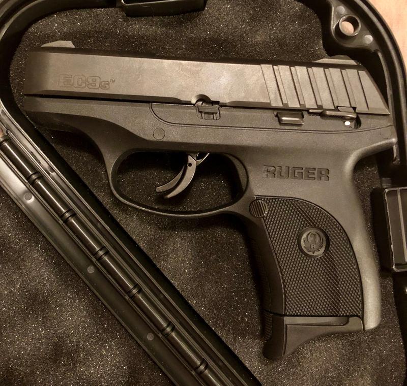 Ruger EC9s Semi-Auto Pistol - 9mm