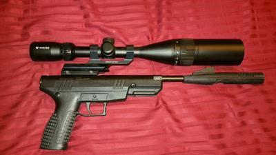 Crosman Benjamin Trail Nitro Piston Break-Barrel Pistol