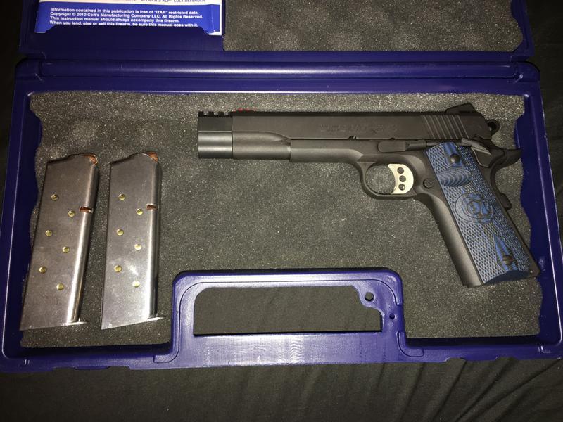 Colt Competition Government Model 1911 Semi-Auto Pistol