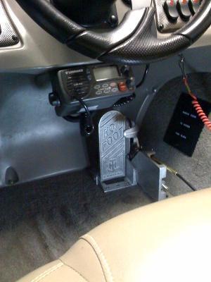 Hot Foot Throttle or Adjustable Slide Mount