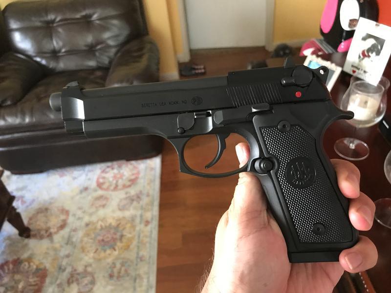 Beretta M9 22LR Rimfire Semi-Auto Pistol -  22 LR - Round Capacity 15 + 1