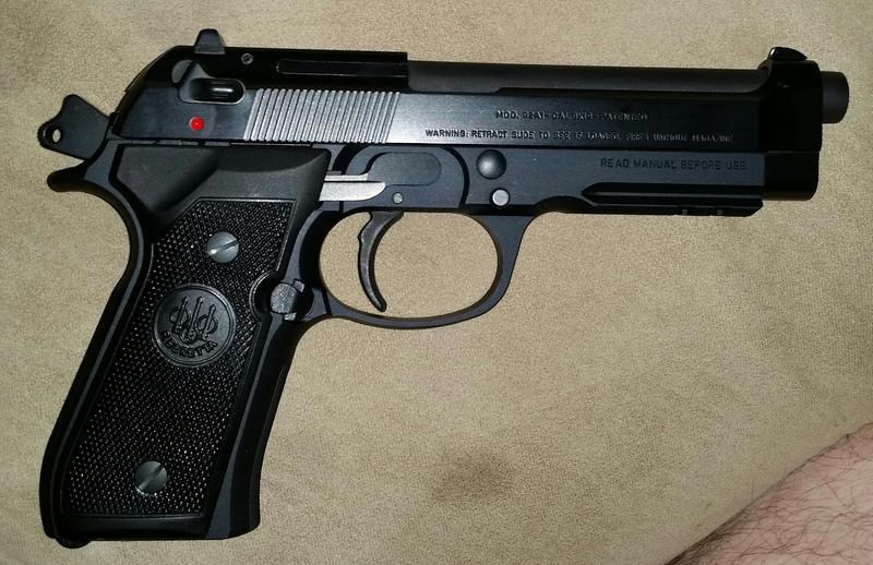 Beretta 92A1 Semi-Auto Pistol - 9mm - 10+1