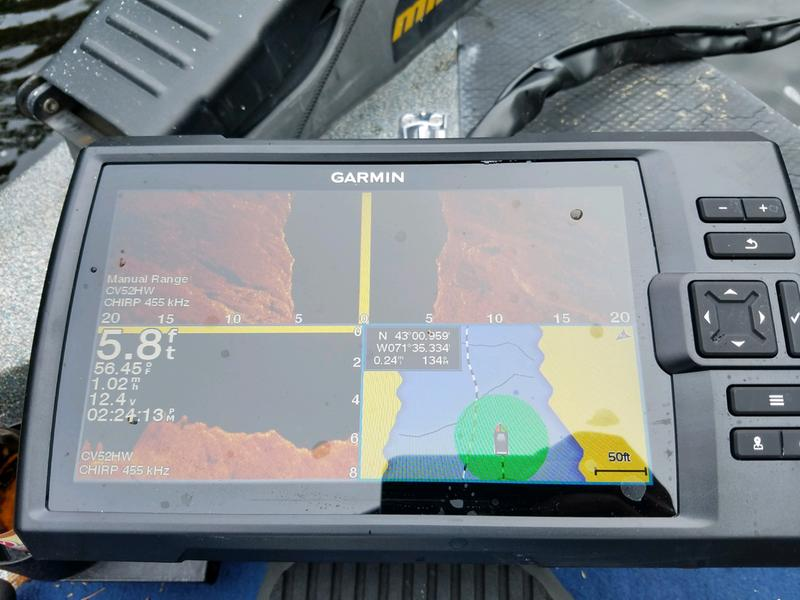 Garmin Striker Plus 9sv Fishfinder/GPS Combo - 9'' Display