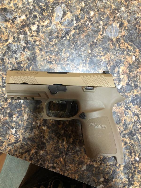 Sig Sauer P320 Compact Semi-Auto Pistol