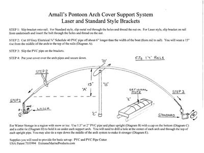Arnall\'s Arch Cover Support System   Bass Pro Shops