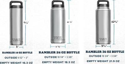 New! YETI Rambler Bottle