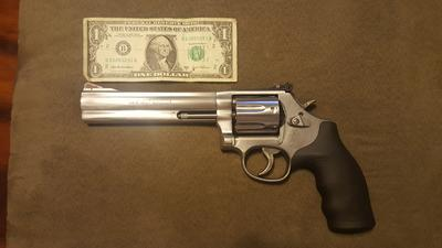 Smith Wesson 686 Plus Double Action Revolver