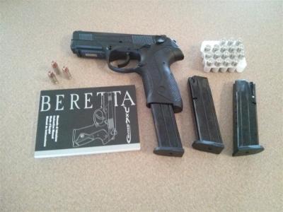 Beretta PX4 Storm Semi-Auto Pistol - 9mm - CA Compliant