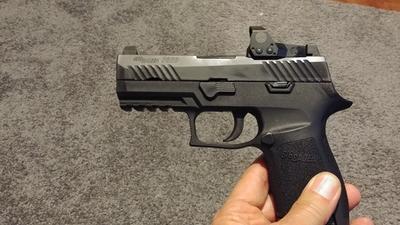 Sig Sauer P320 RX Compact Semi-Auto Pistol - 9mm