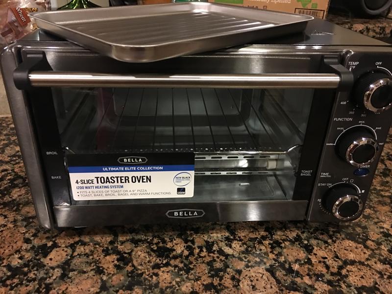 Ultimate Elite Collection 4-Slice Toaster Oven - BELLA