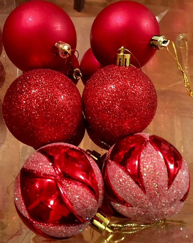 2640297bf Set of 72 Handcrafted Shatterproof Christmas Ornament Holiday ...