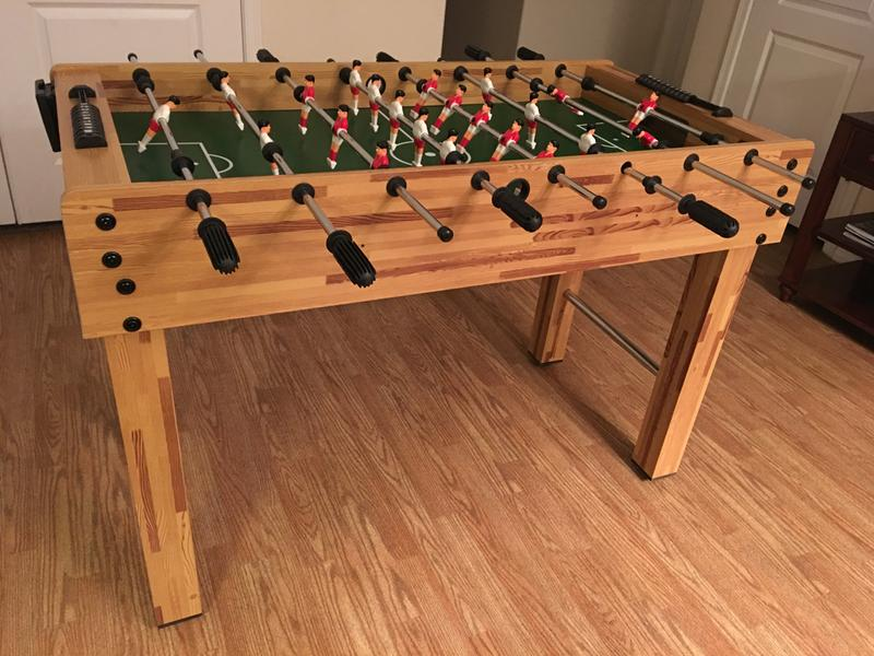 Our New Foosball Table