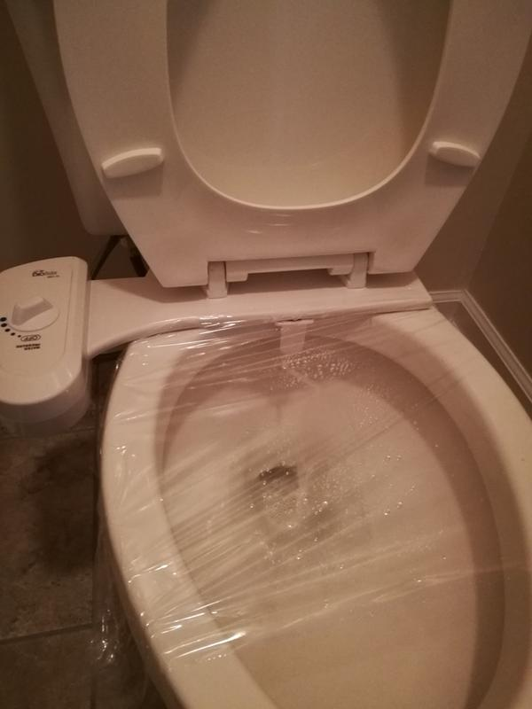 BBC-70 Simplet Basic Bidet Natural Water Soft Mist Bidet Toilet ...