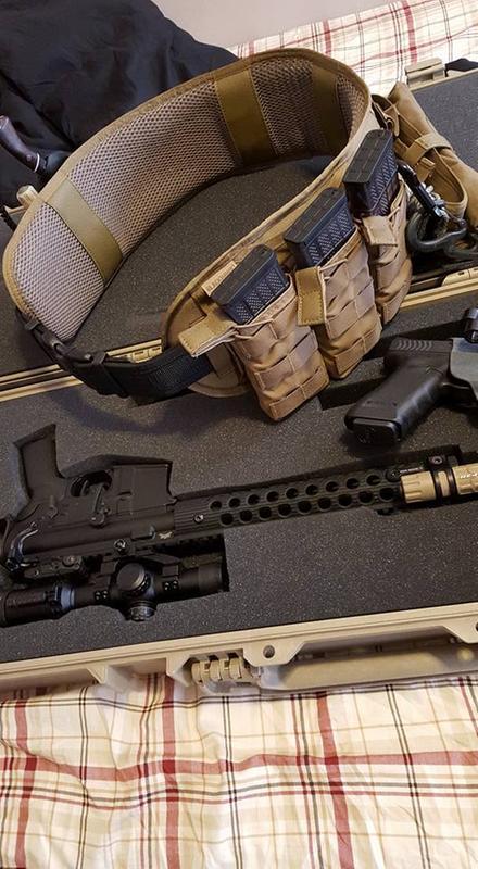 Enhanced Patrol Belt Pad - BLACKHAWK