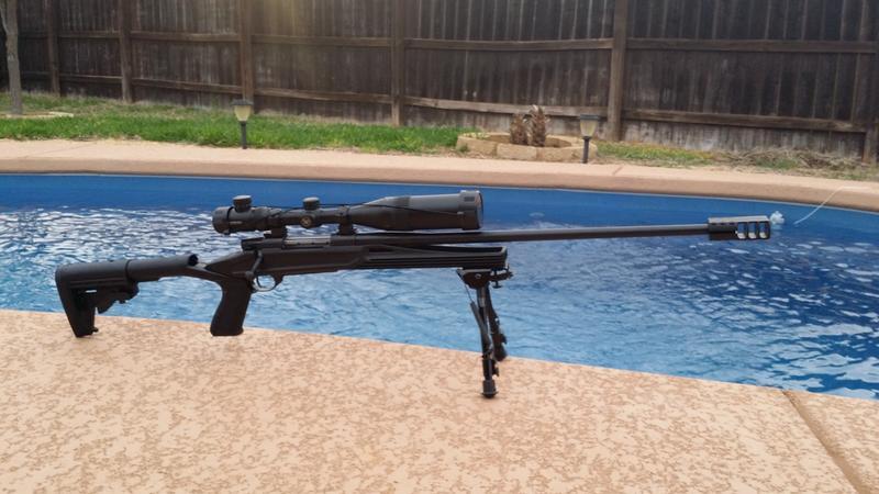 Knoxx® Axiom™ Ultra-Light Rifle Stock - BLACKHAWK
