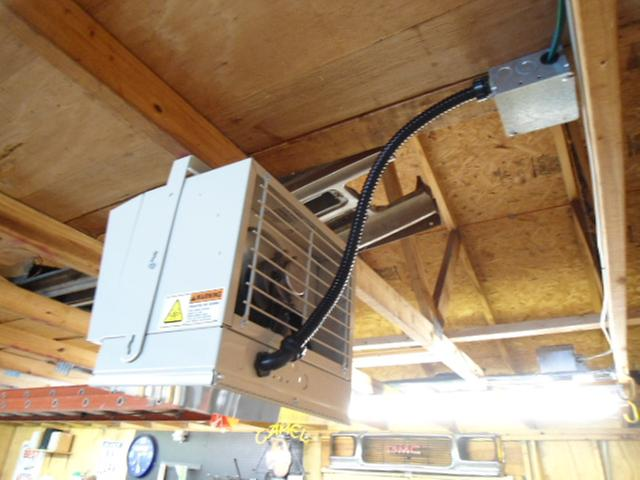 Fahrenheat ceiling mount automatic electrical garage heater