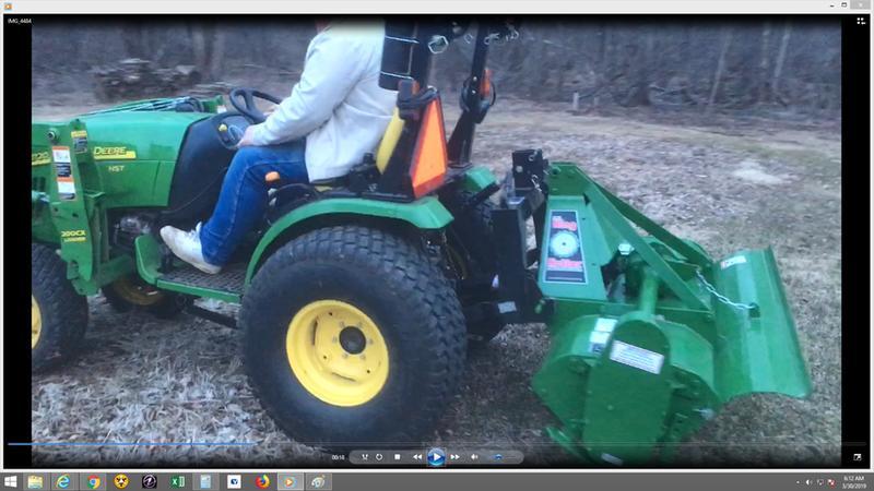 5' Professional Gear Driven Rotary Tiller