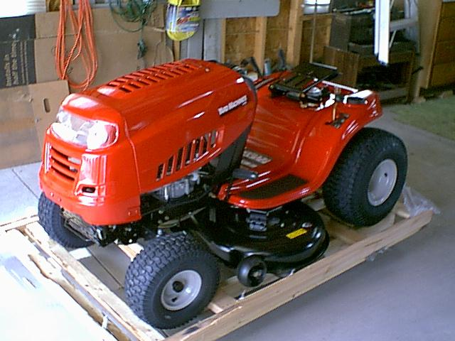 7 Speed 15 5 HP Lawn Tractor