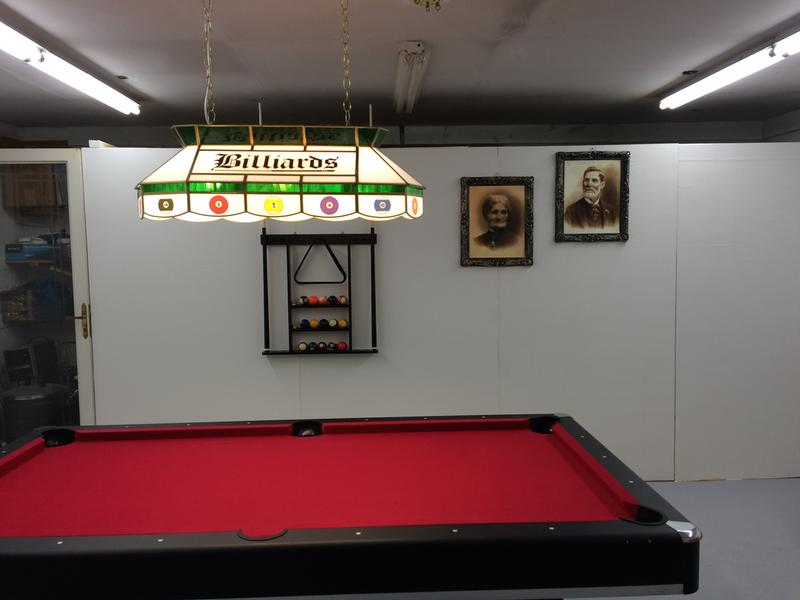 7' Billiard Table with Table Tennis Top