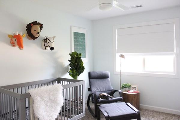 Our Blackout Shade For The Nursery!