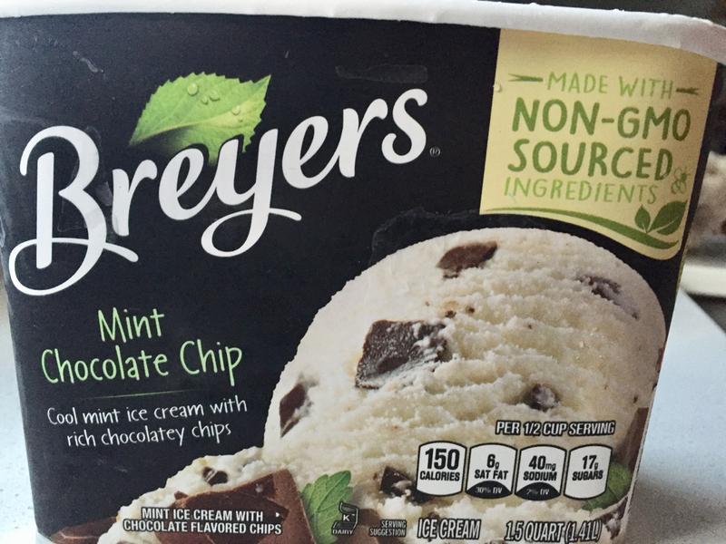 Breyers Chocolate Chip Ice Cream Calories
