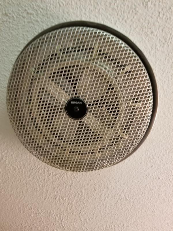 157 Broan Fan Forced Ceiling Heater Low Profile 1250w 120vac