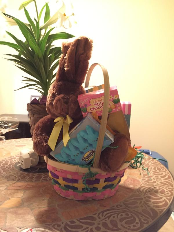 Classic easter bunny gift basket by gourmetgiftbaskets my easter basket negle Images