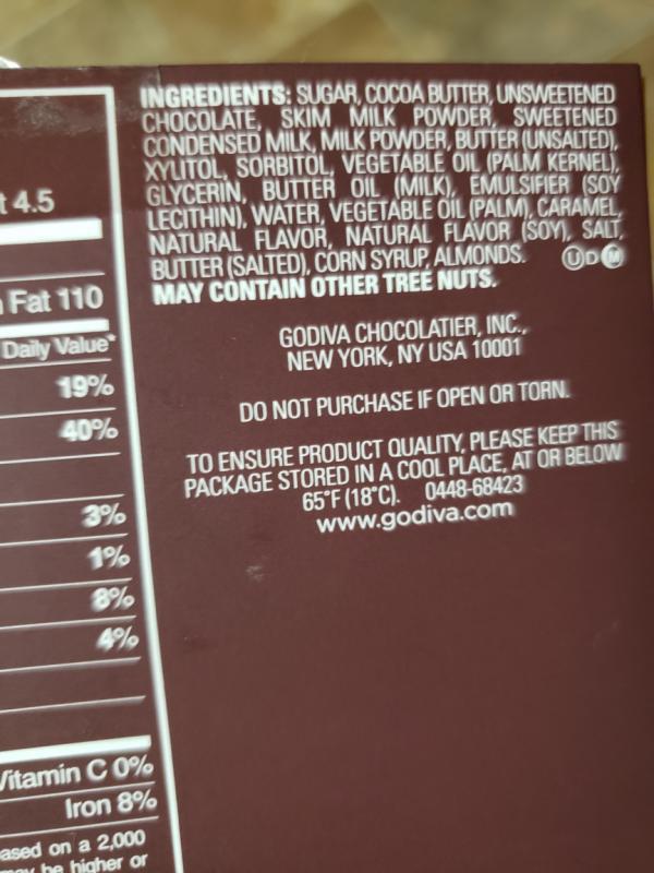 Milk Chocolate G Cube Sampler Set Of 4 22 Pcs Each Godiva