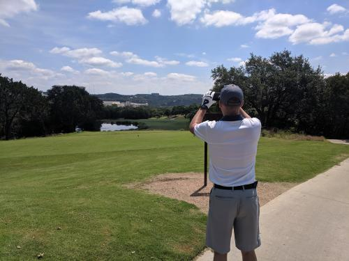 8th tee picture in picture
