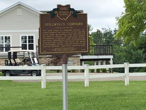 Historical Marker and Clubhouse