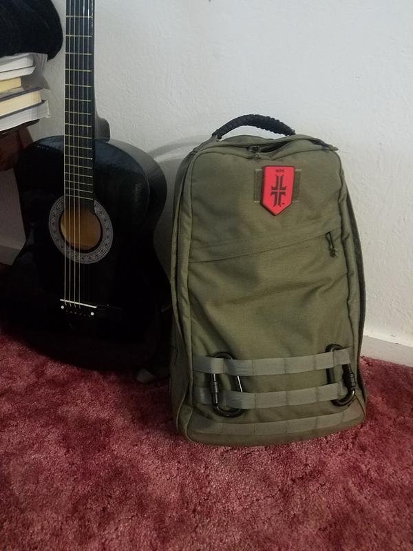 3137fb088bd3 Sporting my Warrior Poet Society patch on my Goruck GR1