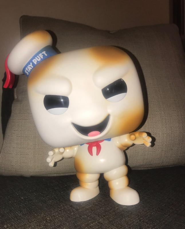 Pop Vinyl Ghost Busters 849 Burnt Stay Puft **Special Edition** Giant 10/'/'
