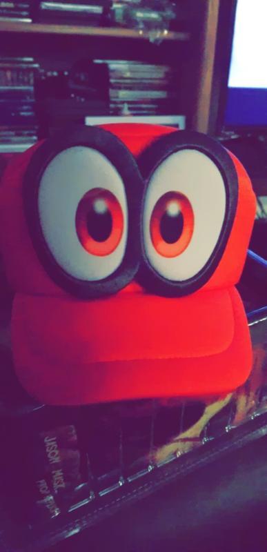 9c16b6174177d8 Super Mario Odyssey Cappy Hat for Collectibles   GameStop