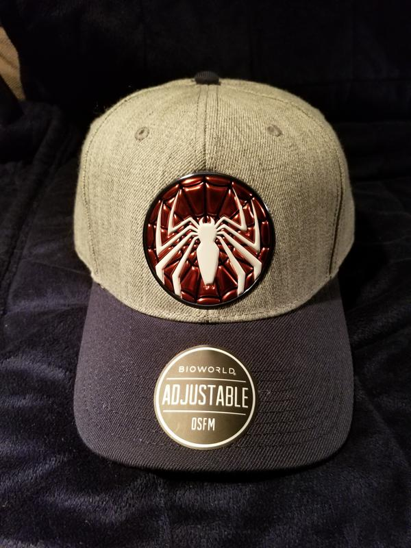 56be32a9a6f Spider-Man Gamerverse Grey Hat for Collectibles