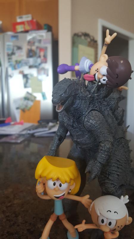 Godzilla 12 Inch HTT Godzilla 2019 Action Figure for Collectibles