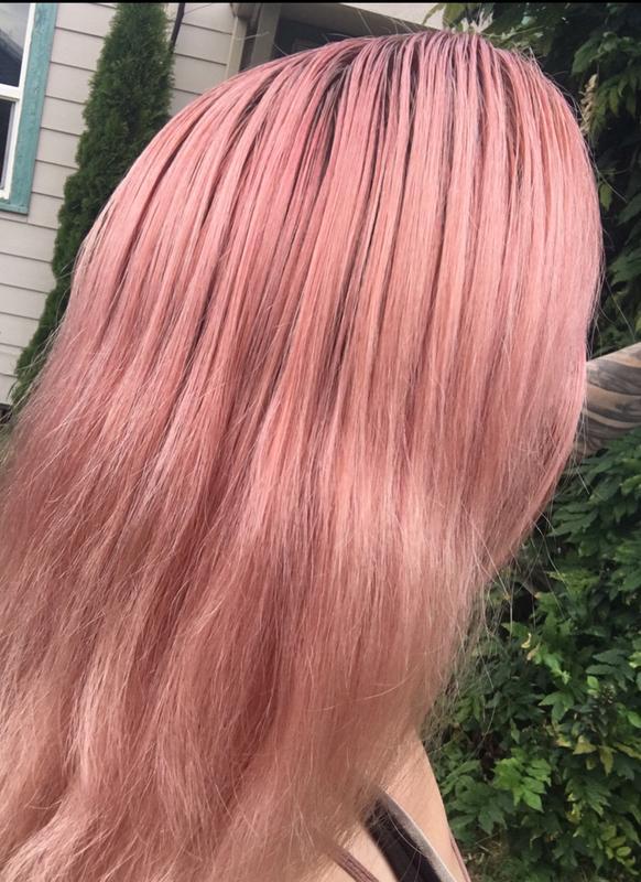 Olia Dark Rose Quartz Hair Color Ammonia Free Hair Dye Garnier