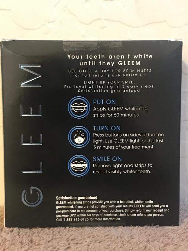 Shop New Gleem One Week Professional Teeth Whitening Kit Gleem Com