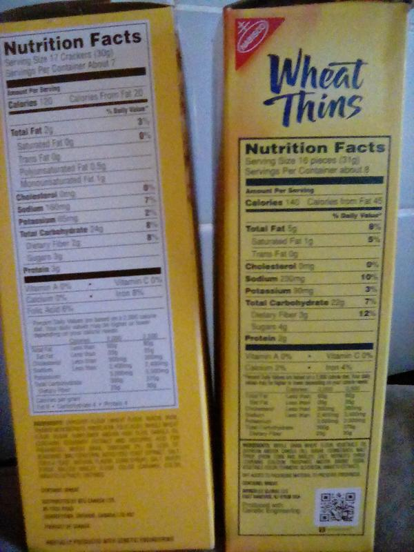 Ranch Wheat Thins Nutrition Facts Besto Blog