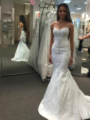 Sweetheart Mermaid Gown With All Over Beading