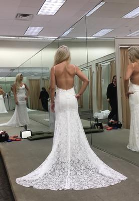 Low Back Wedding Dresses With Lace