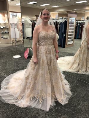 appliqu\u00e9 and pearlwork 1964 ivory silk wedding dress with rose lace