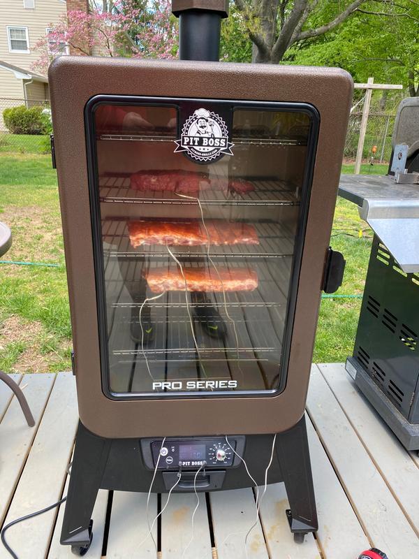 Pit Boss Pro Series 4-Series Vertical Wood Pellet Smoker Pit Boss Grills