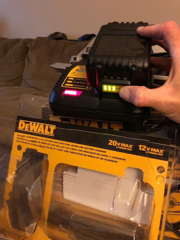 20V MAX* Lithium Ion Battery Pack (3 0 Ah)
