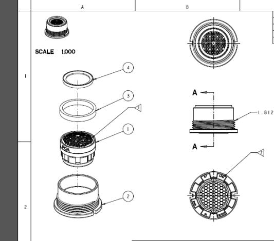 Moen Bathroom Faucet Aerator Diagram Design