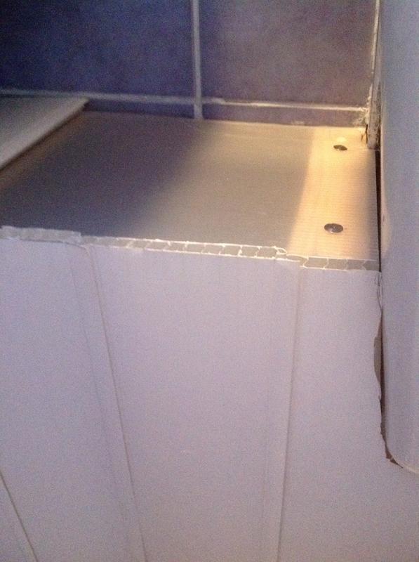 Pvc Bathroom Wall Panels B Q Thedancingpa Com