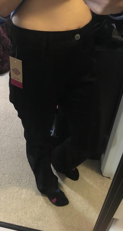 da42b265d6389 Dickies Girl Juniors' Slim Fit Bootcut Leg Worker Pants | Dickies