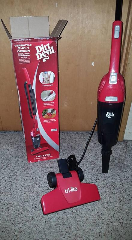 Tri Lite 3 In 1 Corded Hand Stick Vacuum Sd20015 Dirt Devil