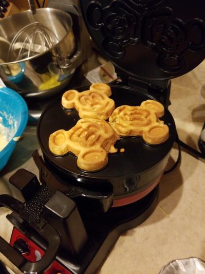 aa5c4298f Mickey Mouse 90th Anniversary Double Flip Waffle Maker   shopDisney