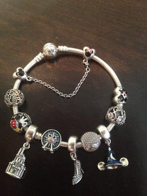 8565965a6 Mickey and Minnie Mouse Safety Chain by Pandora Jewelry | shopDisney
